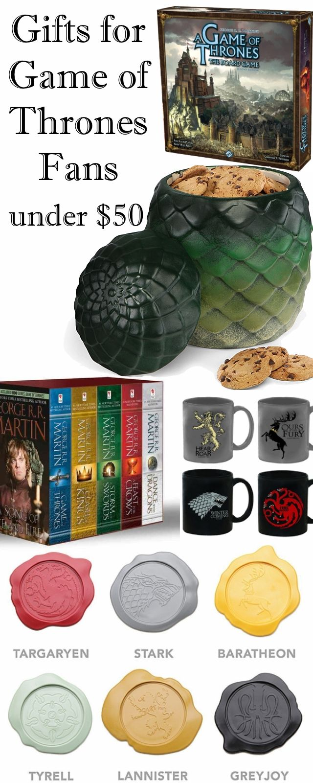 Game of Thrones Gifts Under $50 Gifts for the brother