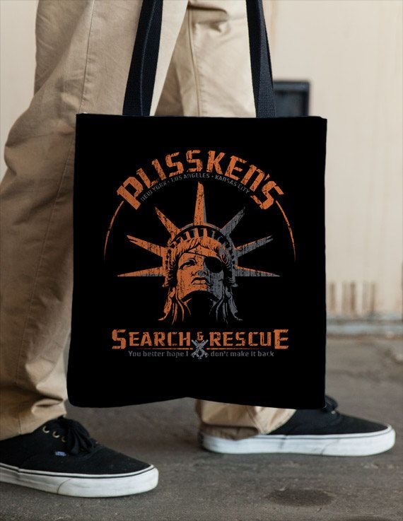 Snake Plissken Escape from New York Tote  by Vincent Carrozza