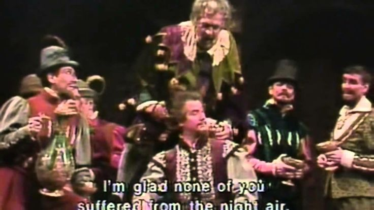 Live performance of Rigoletto at the Metropolitan Opera in 1981 with Pavarotti
