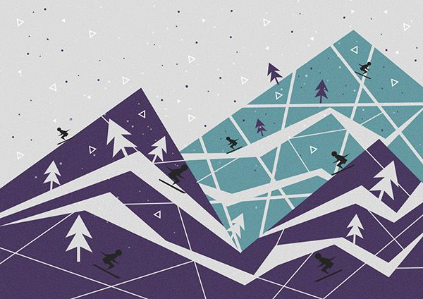 #graphicdesign #design #illustration #illustrations #pastels #portfolio #gif #myworks #behance #work #graphic #designs #olaladesigns #olaladesignsstudio #wintertime #ski #winter #blueshades #blue