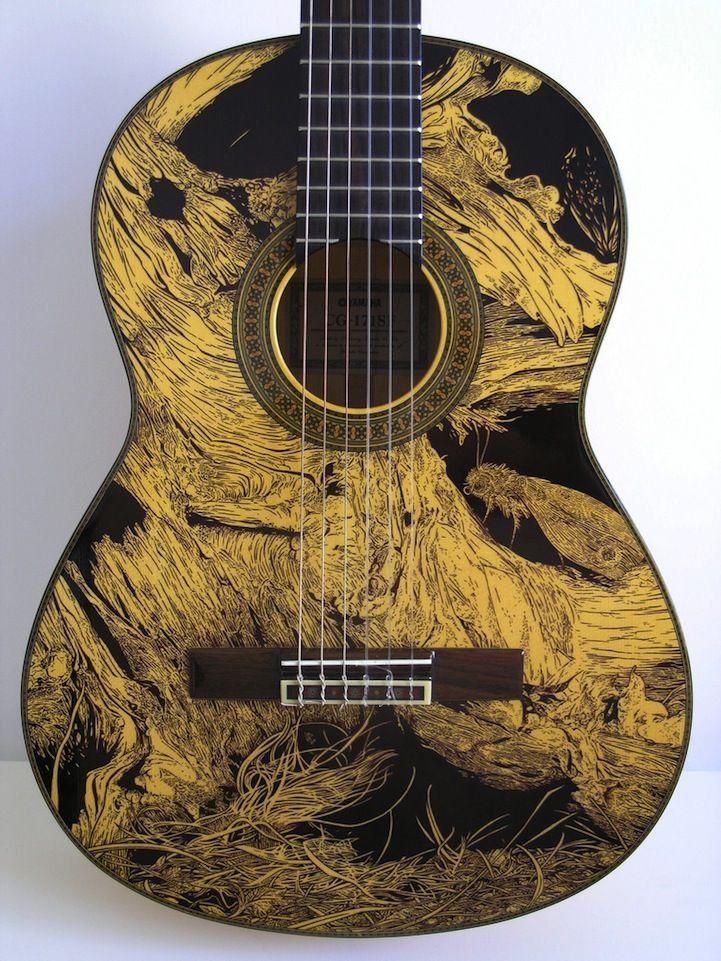 184 best images about hand painted guitars ukuleles and art on pinterest ukulele ukulele. Black Bedroom Furniture Sets. Home Design Ideas