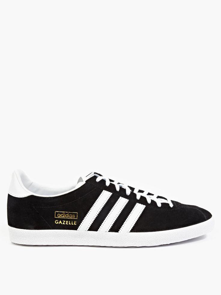 Adidas Originals   Black Gazelle Og Sneakers for Men   Lyst http://www.lyst.com/shoes/adidas-originals-black-gazelle-og-sneakers-2/?reason=lyst-product