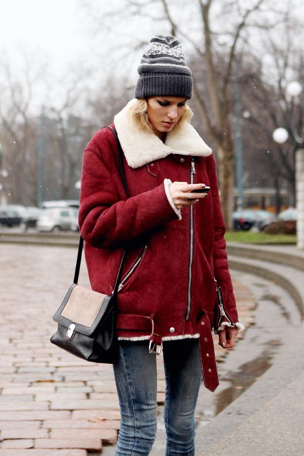Best 25  Aviator jackets ideas on Pinterest | Acne leather jacket ...