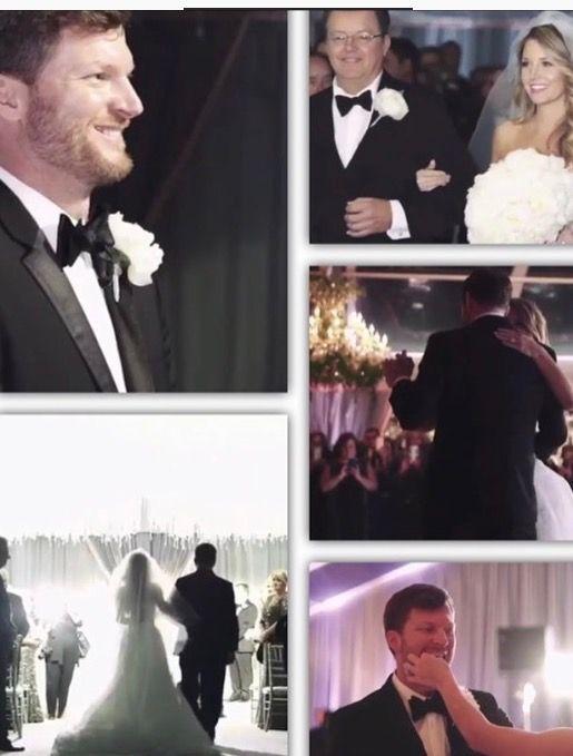 Amy and Dale Earnhardt Jr December 31,2016 wedding
