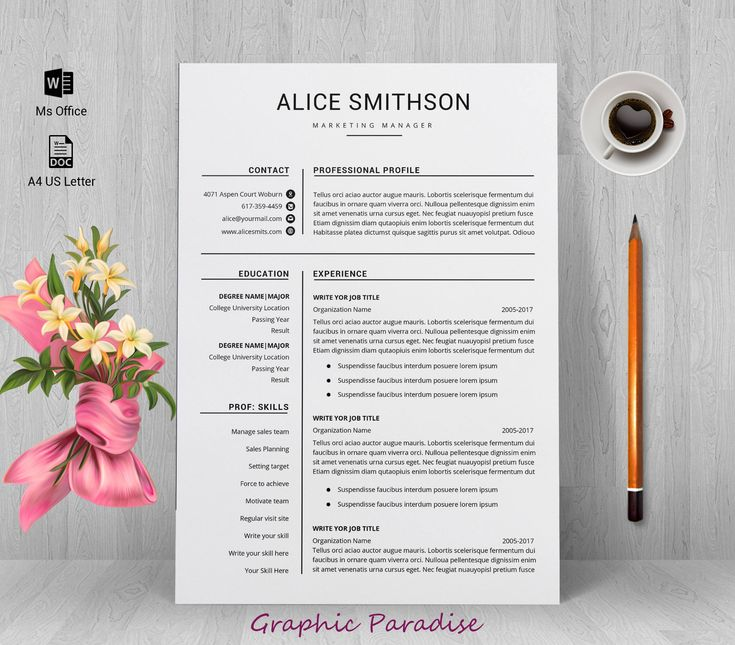 The 25+ best Cover page template word ideas on Pinterest - fashion brand manager sample resume