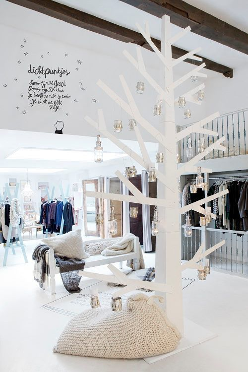 Sukha Amsterdam. White tree in store as products will already be quite overwhelming? An option anyway.
