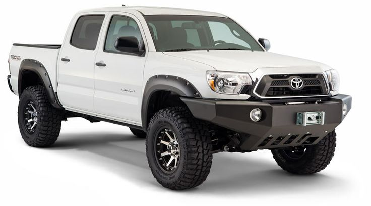 tacoma fender flares | white tacoma w/ black fender flares??? - Tacoma World Forums