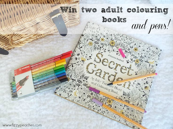 GIVEAWAY: THE SECRET GARDEN INKY TREASURE HUNT AND A LITTLE GIVEAWAY! Open Worldwide!  Enter and you could win the AMAZING Joanna Basford book - The Enchanted Forest, Colouring by Edward Bawden and two sets of Stabilo colouring pens, one in a really handy carry case. #adultcolouring