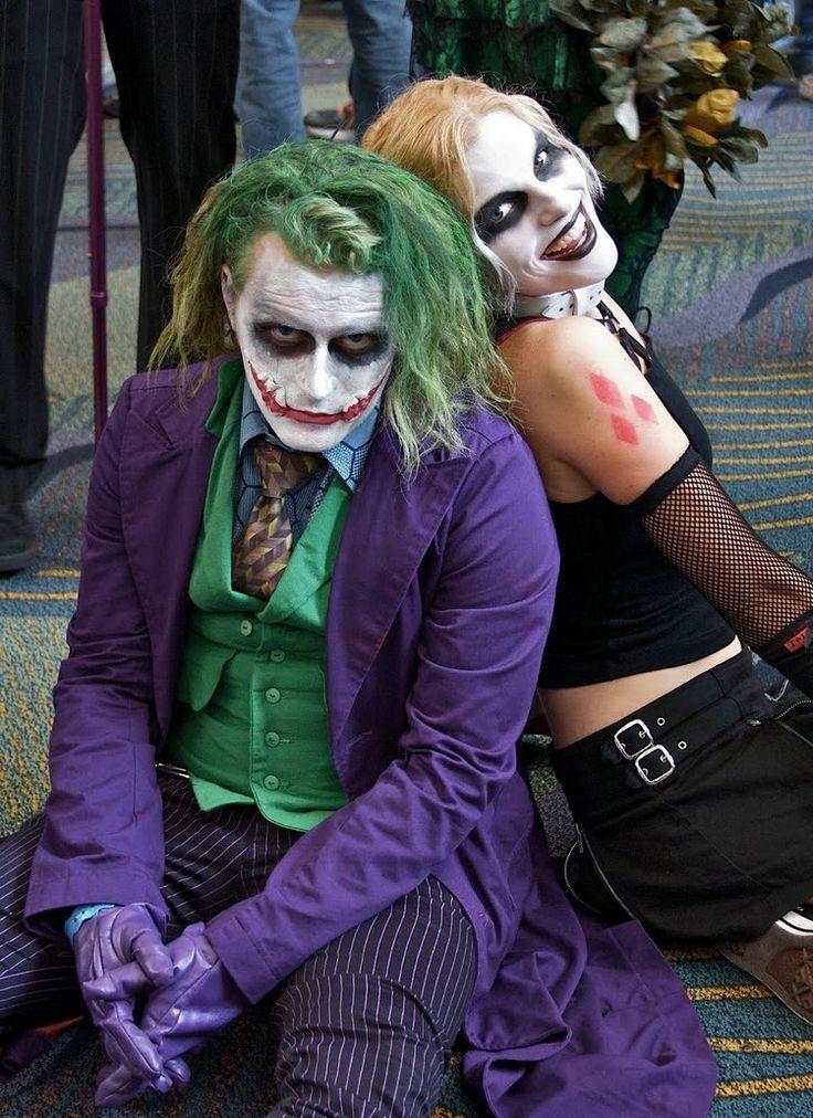 Joker und Harley Quinn Kostüme zu Fasching oder Halloween selber machen - Tipps und Ideen