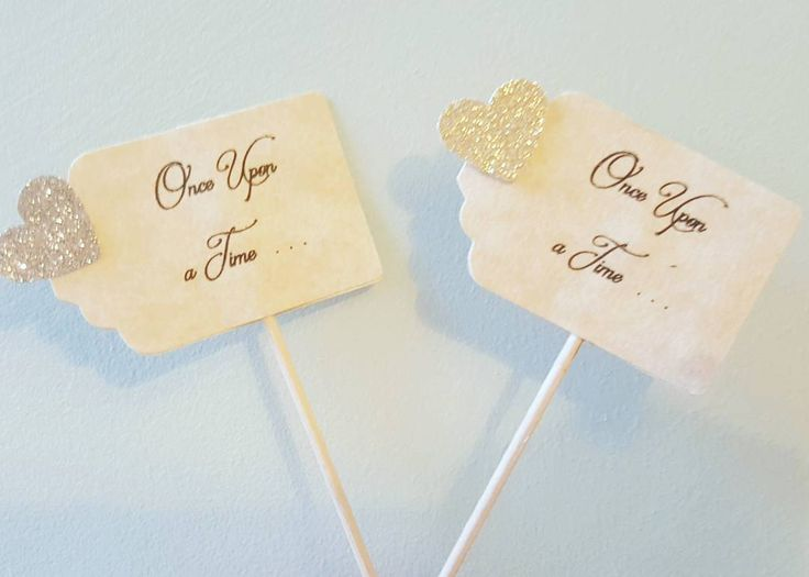 Once upon a time cupcake toppers with gold and silver  glittered hearts #wedding #weddings #weddingsurprise #engagement #engagements #partydecor #partydecoration #partydecorations #rusticdecor #rusticwedding #rustic #rustic #weddingplanning #weddingplan #weddingparty #weddingideas #onceuponatime #fairytale #fairytalewedding #todaywasafairytale #cupcakes #cake #cupcaketoppers #caketoppers #weddingcake #weddingcupcakes #weddingcupcakes #weddingcakes #romanticwedding #romance #love
