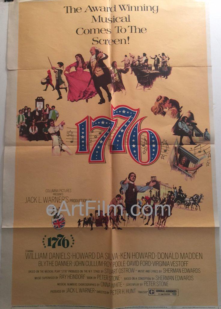 Happy Birthday #JohnCullum https://eartfilm.com/products/1776-ken-howard-blythe-danner-1972-27x41-u-s-one-sheet #actors #Broadway #theater #NorthernExposure #TheMiddle #Urinetown #Rutledge #30Rock    1776-Ken Howard-Blythe Danner-1972-27x41-U.S-One-Sheet
