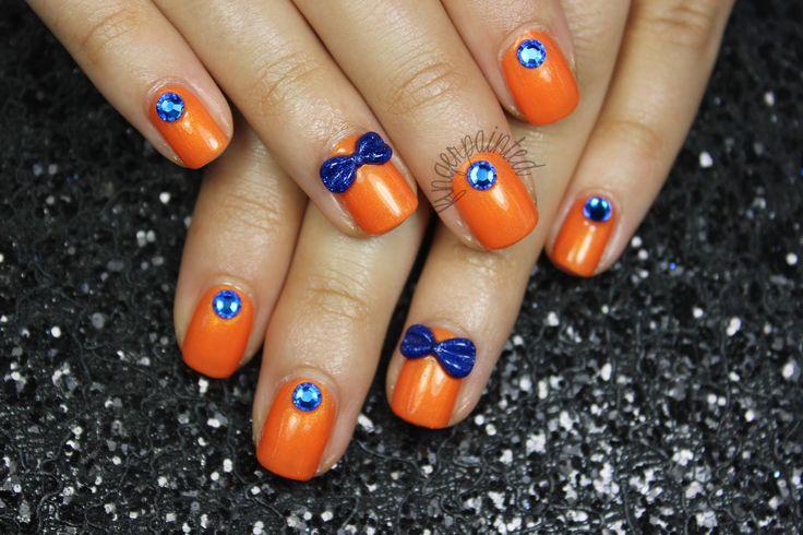 Brown And Orange Wedding Colors