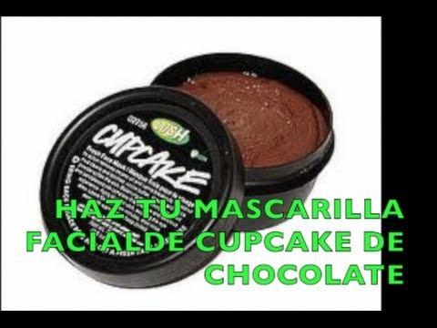 Haz tu Mascarilla FACIAL de CUPCAKE de Chocolate/ DIY Lush Cupcake Facia...