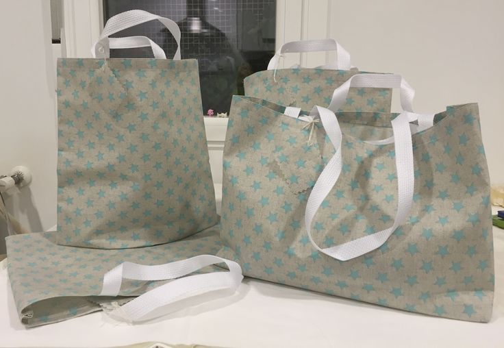 Shoping bags in oil cloth