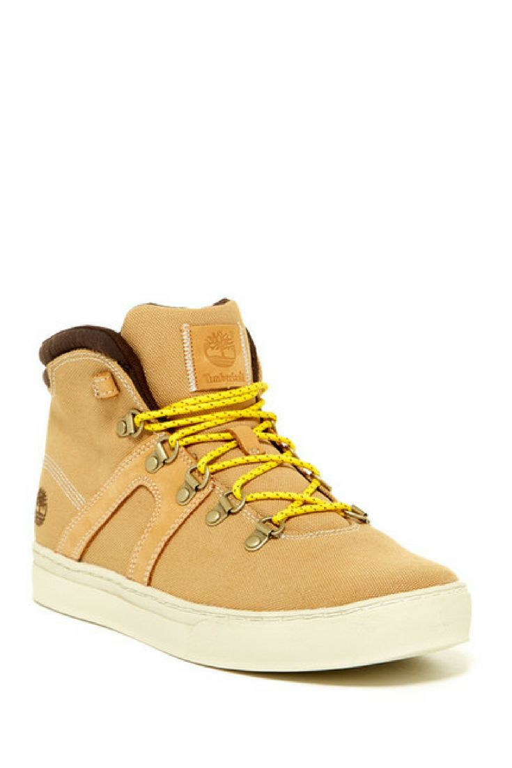 Timberland Dauset Hiker Sneaker. Feel great in these warm and comfortable Timberland sneakers at men's fashion ideas at Nordstrom Rack. #shoes #men #fashion #style #timberland #ad