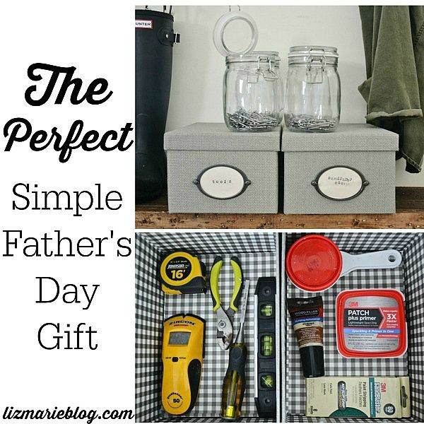How To Store Your Tools & An Easy Father's Day Gift -