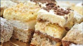 Prăjitura pe care o poți face când ai musafiri sau la o aniversare – iese foarte bună și foarte multă