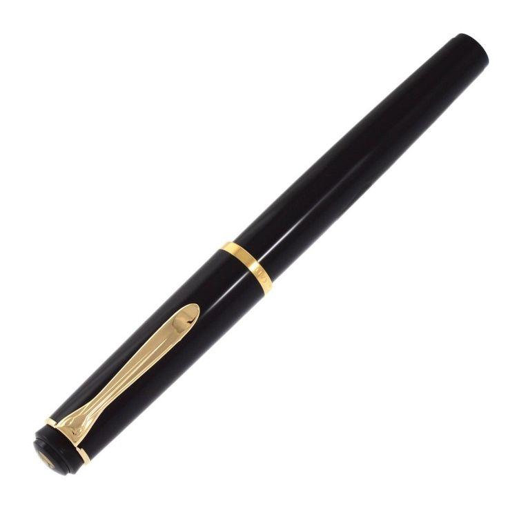 PELIKAN fountain pen Elegance Classic P 200 black - NIB Steel (M)