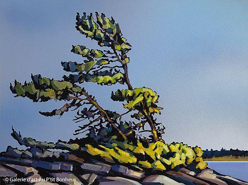 Jerzy Werbel, 'Never Give Up', 30'' x 40'' | Galerie d'art - Au P'tit Bonheur - Art Gallery