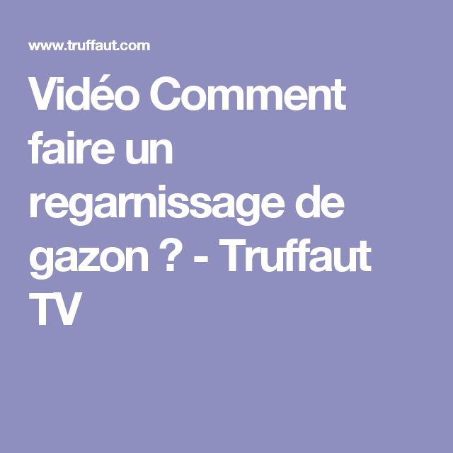 Vidéo Comment faire un regarnissage de gazon ? - Truffaut TV