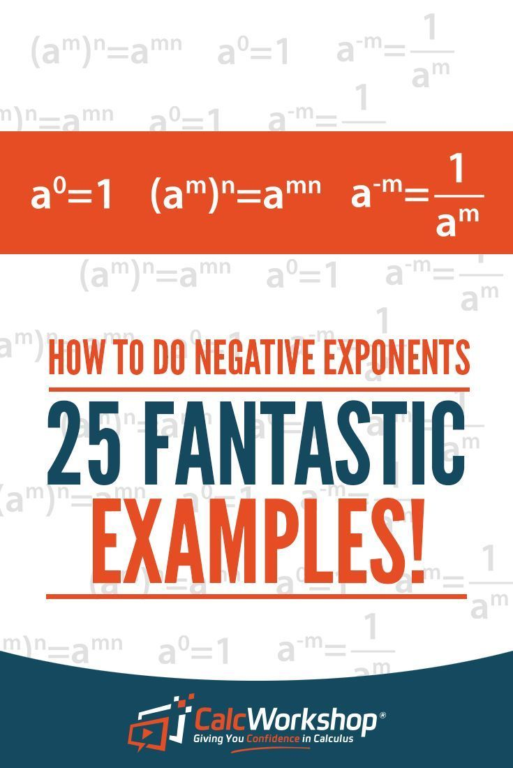 56 best properties of exponents images on pinterest high school how to do negative exponents 25 amazing examples falaconquin