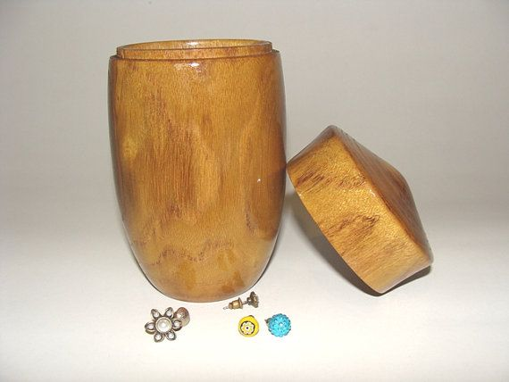 Acacia wood jewelry box / Wooden box / Jewelry box / by NOviWood, $18.00