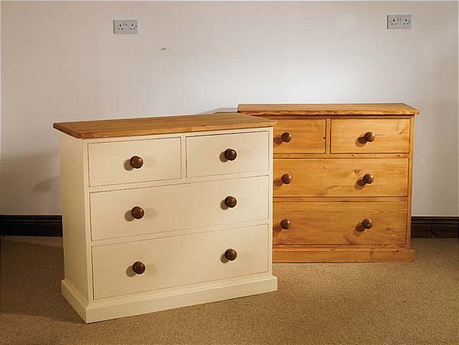 Mottisfont Waxed 2 Over 2 Chest Of Drawers Waxed Pine 2 Over 2 Chest Of Drawers - Mottisfont MCOD359 This made to order 2 over 2 Chest of Drawers follows a traditional victorian design with large wooden knobs and has deep drawers at the base f http://www.MightGet.com/january-2017-13/unbranded-mottisfont-waxed-2-over-2-chest-of-drawers.asp