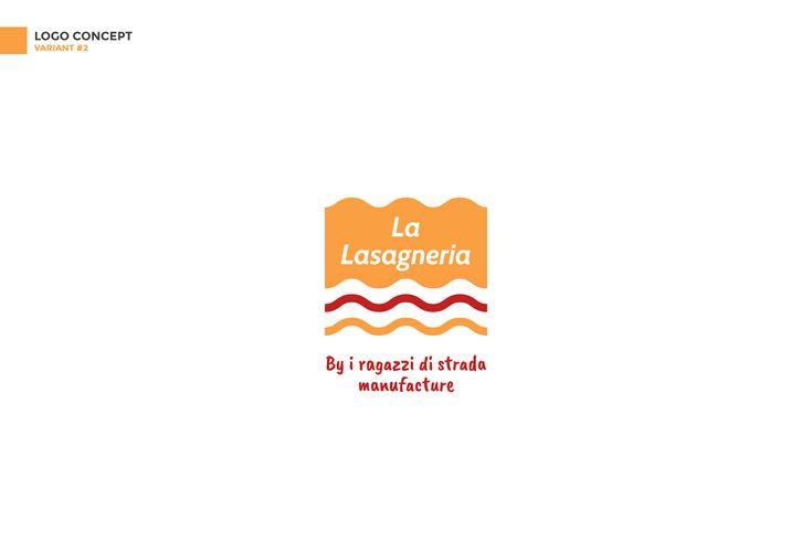 La Lasagneria | demo project on Behance