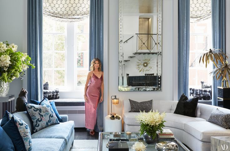 The 'Real Housewives Of New York' star has given her downtown sanctuary a full face-lift, including that famous sofa from her mother-in-law, Lee Radziwill