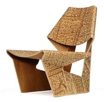Pink Jalk Project GJ Chair designed by Winka Dubbledam of Archi-Tectonics  #PinkProject