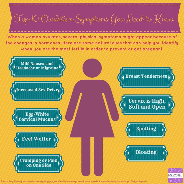 Common Ovulation Symptoms from Your Body - KNOWHEN