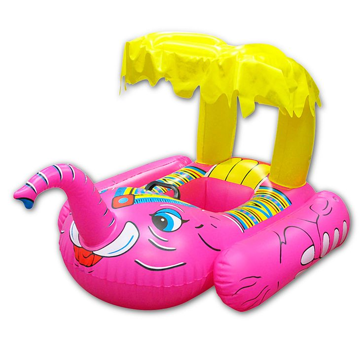 Elephant Baby Rider Pool Toy