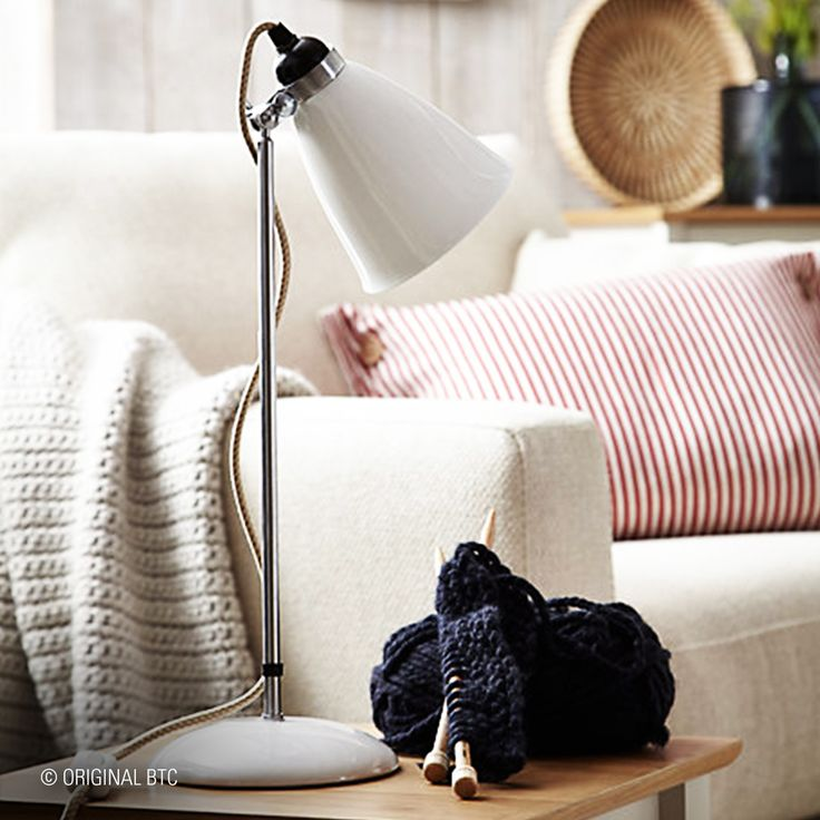 #HappyFriday Stay cosy this weekend. Our Hector Bone China Table Light is the perfect addition to any lazy day.