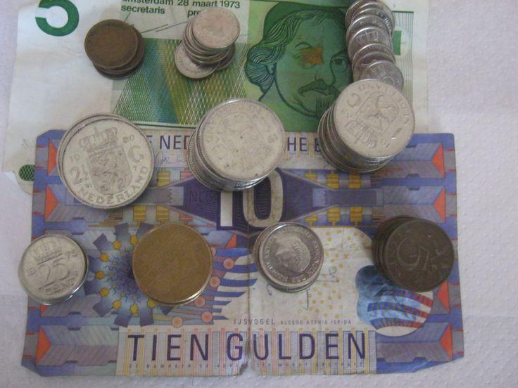 50 Holändische Gulden,Umlaufmünzen +Scheine vor Euro Umstellung 1984-1995 Sammlermünzen von AbrahamsTroedelShop auf Etsy