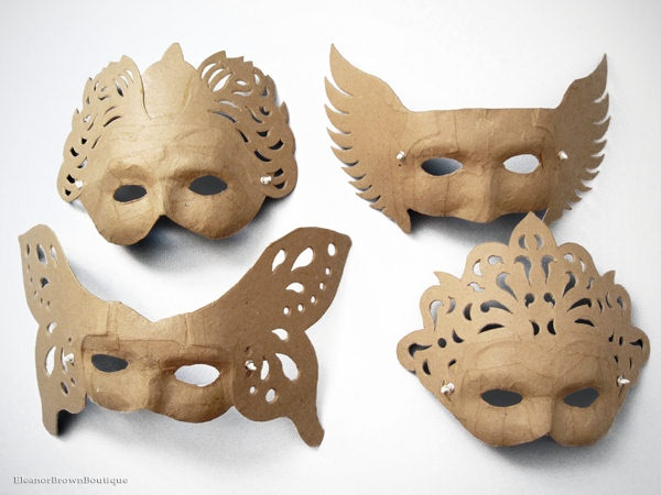 1000 ideas about paper mache mask on pinterest paper for Paper mache mash