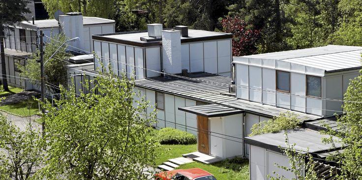 Planetveien 10-14. Arkitekt: Arne Korsmo (1900-1968) og Christian Norberg-Schulz (1926-2000)