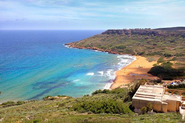 Slideshow: Most Colorful Beaches | U.S. News Travel Ramla Bay #Gozo, #Malta