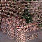 04 Capilla con botellas de vidrio - Casas con botellas Construcciones ecologicas