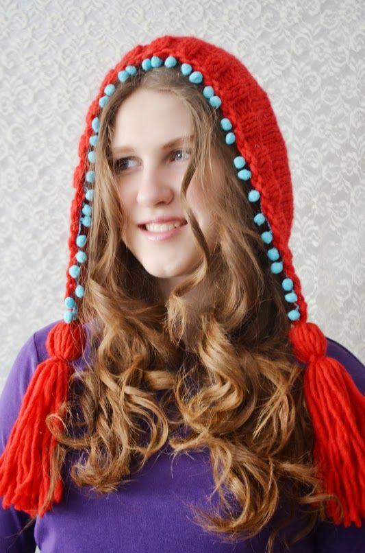Caciula tricotata-crosetata You Are My Heart (65 LEI la irinaindira.breslo.ro)