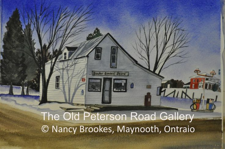The Old Peterson Road Gallery, located in Maynooth, ON.