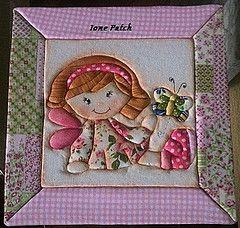Ione Ione patch (Patch) Tags: rosa boneca Caixa de patch embutido Tecido