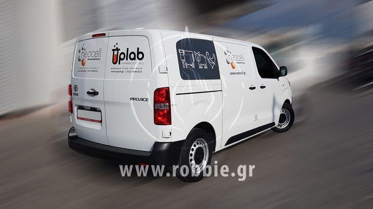 Neocell / Σήμανση οχημάτων // #Σήμανση_Οχημάτων #Στόλοι_Εταιρειών #Ψηφιακές_Εκτυπώσεις #robbieadv