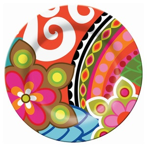 "Fantasia 11"" Plate Set of 2 now featured on Fab."