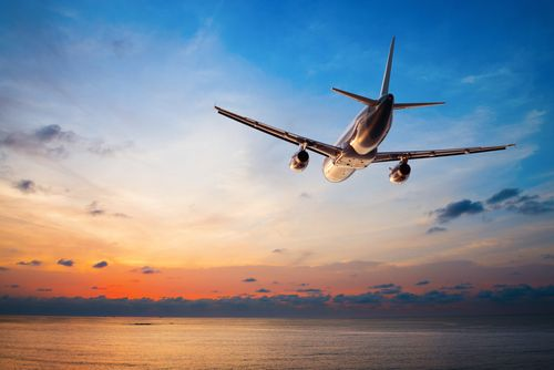 Airplane flying restless legs syndrome