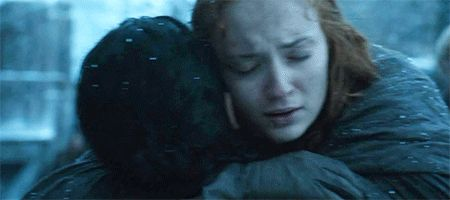 Pin for Later: How Sansa Stark Became One of the Most Badass Game of Thrones Characters When She Finally Finds Her Way to Jon Snow Look, something good happens!