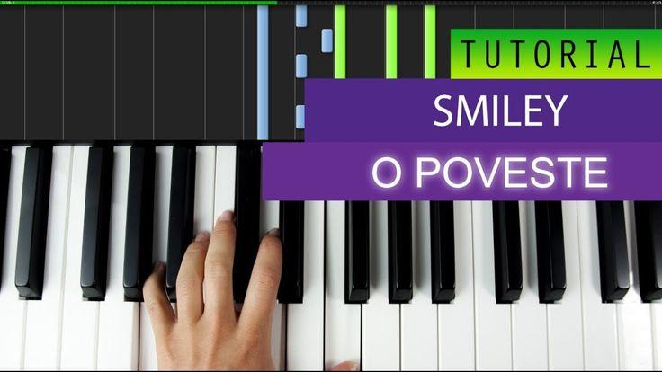 Smiley - O Poveste - Piano Tutorial + MIDI