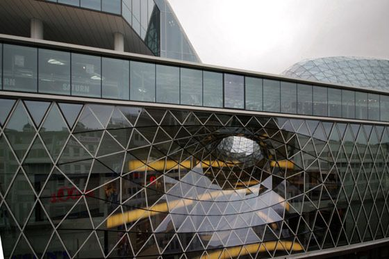 Myzeil Shopping Mall, Frankfurt am Main  Fuksas