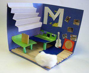 Interior Design Diorama. Teaching FrenchLesson PlanningChild ...
