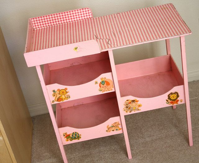 Vintage Baby Doll Changing Table   Should Start Looking For One Of These At  The Flea