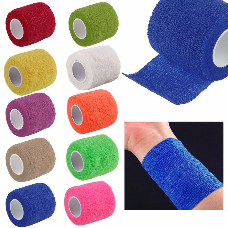 1 Roll Kinesiology Sports Muscle Care Elastic Physio Therapeutic Tape 5m x 4.5cm #Unbranded